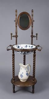 fine victorian wash stand pitcher basin