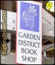 garden district new orleans walking tour map. Garden District Walking Tour Map, New Orleans, The Rink Bookstore Orleans Map R
