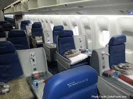 the full flat seats as delta calls them are very nice pared to the 777 these have a ton of e and felt much less claustrophobic than the herring