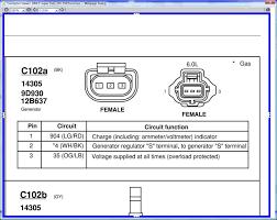 alternator wiring ford powerstroke diesel forum 1995 Chevy Tracker alternator wiring untitled jpg
