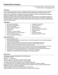 Talent Resume Nmdnconference Com Example Resume And Cover Letter