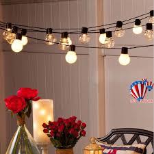 Bulb Fairy Lights Details About 20 Led String Fairy Light Globe Festoon Bulb 6m Gu45 Lamps Connectable Plug In