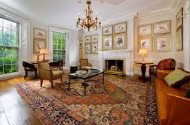 how to choose the right sized area rugs for your wide plank wood floors traditional living room