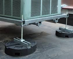 hvac dunnage made with unistrut channel