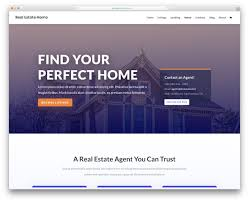 Web Design Using Templates And Wysiwyg 25 Top Bootstrap Real Estate Website Templates 2020 Colorlib