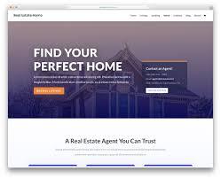 17 Best Free Real Estate Website Templates 2019 Colorlib
