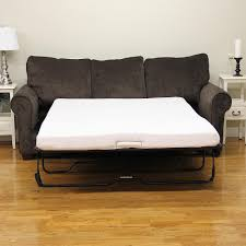 sleep options classic twin size memory foam 4 5 in sofa bed mattress