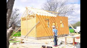 Small Picture Small House Tiny House Construction Framing The Roof timelapse