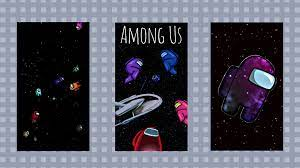 Cool Among Us Space Background Images ...