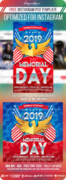 Memorial Day Instagram Stories Template In Psd Post