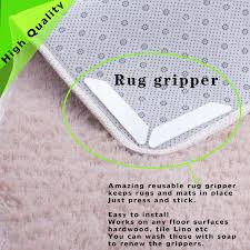 2019 anti slip rug grips set rug carpet mat grippers non slip reusable washable silicone grip slip stickers bathroom from lhj1990928 4 42 dhgate com