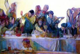 last supper painting by philip smeeton