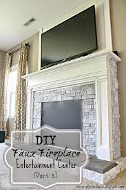 Build A Fake Fireplace Diy Faux Fireplace For Under 600 The Big Reveal Blesser House
