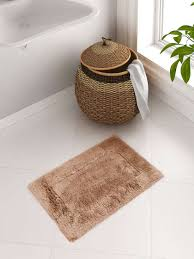 spaces cotton blend bath rug