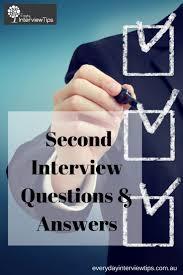 Best 25 Second Interview Questions Ideas On Pinterest Second