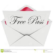 words invitation free pass invitation card envelope open mail stock illustration