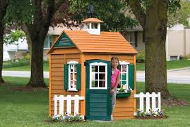deluxe cool playhouses design interior with spacious playground for toddler and wooden