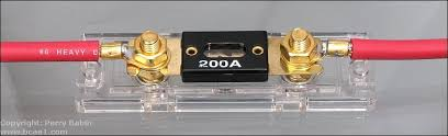 fuses fuses of this size and configuration are referred to as either a midi ami or mini anl fuses the one in the holder has a blue led that illuminates when the