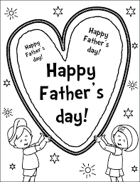 kids coloring pages happy fathers day for thanksgiving father a