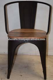 recycled industrial furniture. Vintage Industrial Metal Chair Recycled Scrap Wooden Seat Rustic Color Recycled Industrial Furniture E