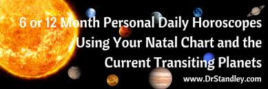 Astrology 6 And 12 Month Daily Horoscopes Using Transits