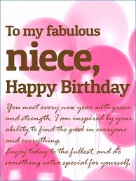 Niece Quotes Amazing Happy 48rd Birthday Niece Quotes Clickadoonet