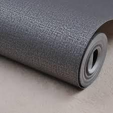 Zilver Zwart Behang Roll Moderne Ontwerp Geweven Muur Papier
