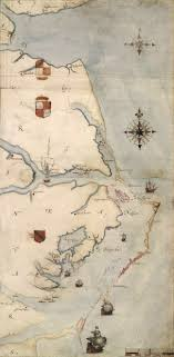 roanoke colony wikipedia Map Of Voyage From England To Jamestown Map Of Voyage From England To Jamestown #47 England to Jamestown VA Map