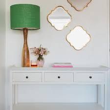 white entryway furniture. Gold Quatrefoil Mirrors White Entryway Furniture D