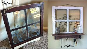 ideas on what to do with old junk interiors with craft ideas using old windows
