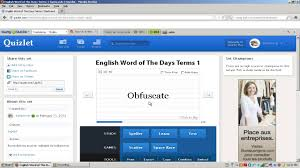Make Flashcards On Quizlet