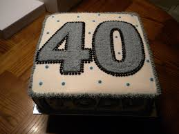 40th Birthday Cakes For Men Classic Style Cool 40th Birthday