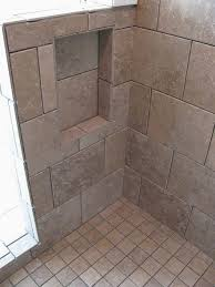 tile shower pan kit clever this bathroom remodel features mohawk s sahara stone cairo brown