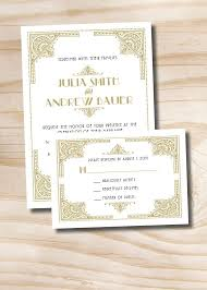 best 25 art deco wedding inspiration ideas on pinterest art Cheap Art Deco Wedding Invitations Uk art deco gatsby wedding invitation response card 100 professionally printed invitations & response cards art deco wedding invitations uk