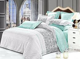 sea green bedding tranquil 3 piece microfiber bedding set duvet cover and two pillow shams