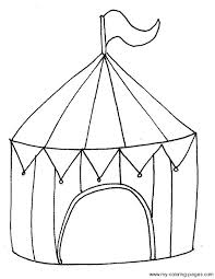 Small Picture Circus Tent Coloring Page make Pinterest Tents Circus