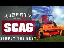 liberty z zero turn rider scag power equipment