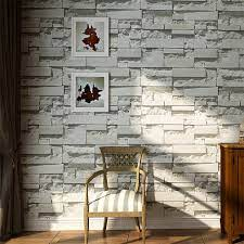 Retro 3D Brick Wall Design Wallpaper ...
