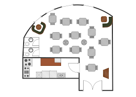 Small Commercial Kitchen Layout How To Create Restaurant Floor Plan In Minutes Restaurant Floor