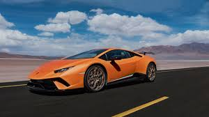 2018 lamborghini performante release date. fine 2018 the image shows the detail of tail light an orange huracn  performante and part rear spoiler on 2018 lamborghini performante release date n