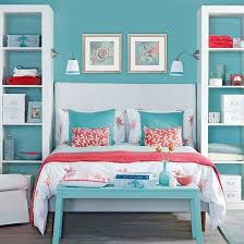 Awesome Above the Bed Beach Themed Decor Ideas. Coral AccentsRed Accent  BedroomCream ...