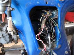 time to update the cl70 electrical harness fourwheelforum the connections are all good but we can do out the wire nuts and exposed wires