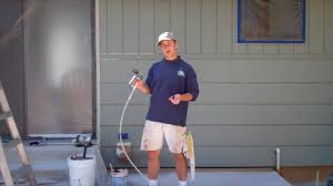 Exterior Painting Step  Spray Painting The House YouTube - Exterior painting house