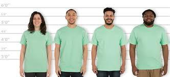 Gildan Hammer Size Chart Customink Com Sizing Line Up For Gildan Hammer T Shirt