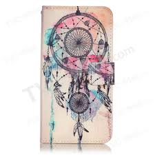 Dream Catcher Case Iphone 7 Plus Patterned Leather Wallet Case for iPhone 100 Plus 100100 inch Dream 45