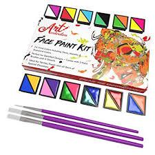 face paint kit set of 24 professional face body makeup colors for kids