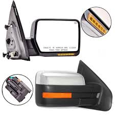 04-14 Ford F150 Pickup Truck Mirrors Power Heated Turn Signal Puddle ...