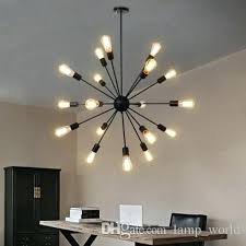 hot sputnik atomic starburst light lamp chandelier mid century modern pendant suspension vintage lighting