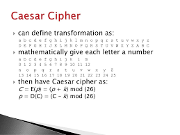Letters By Number Substitution Ciphers A Substitution Technique Is One In Which The