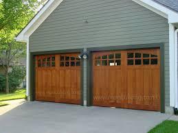 Wood Garage Doors. Stable Style Garage Doors. Garage Door with ...
